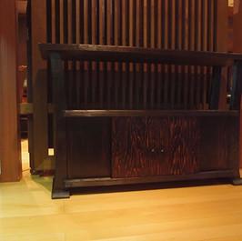 秋田杉 飾り棚