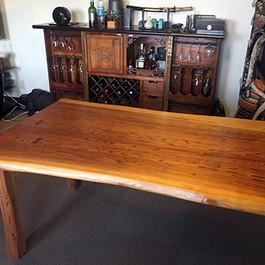 秋田杉 一枚板テーブル