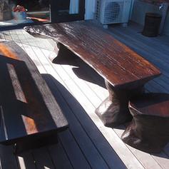 秋田杉一枚板テーブル