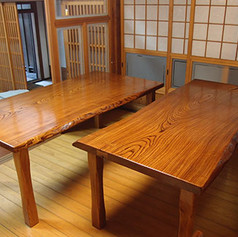 欅 一枚板テーブル