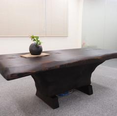 秋田杉一木テーブル