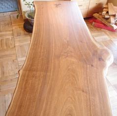 胡桃 ダイニングテーブル 木地