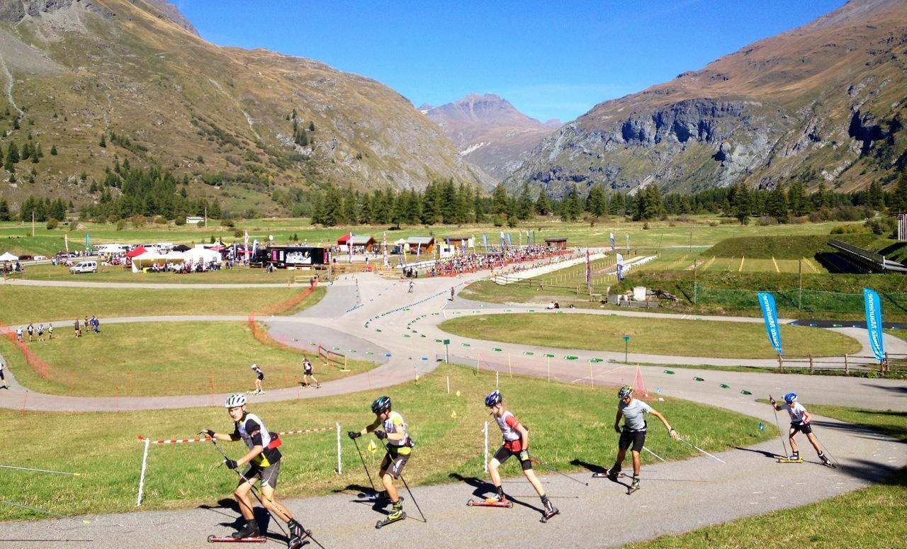 biathlon-ski-roue-bessans-haute-maurienne-vanoise