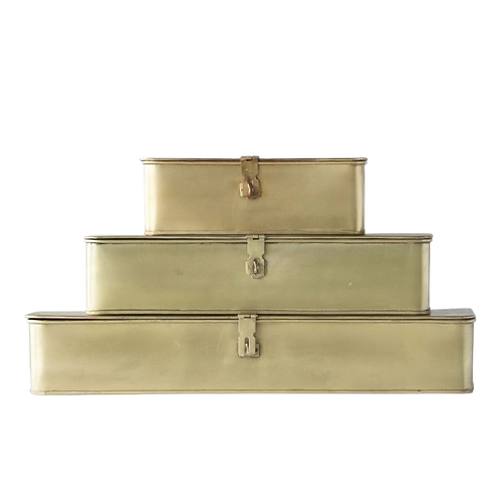 Cambridge Brass Boxes