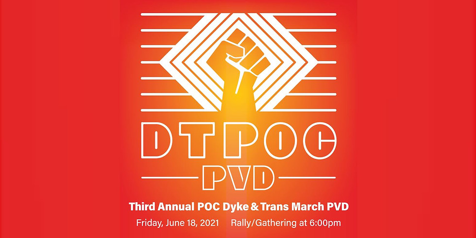 Third Annual POC Dyke and Trans March PVD