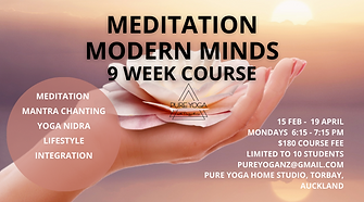 Meditation and Yoga Nidra Course online