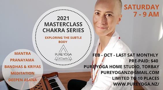 Chakra Masterclass. Mantra Chanting.  Yoga Nidra. Hatha