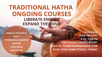 Traditional Hatha Course Teacher Experienced