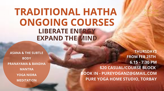 Hatha Course. Pranayama. Meditation. Mantra Chanting