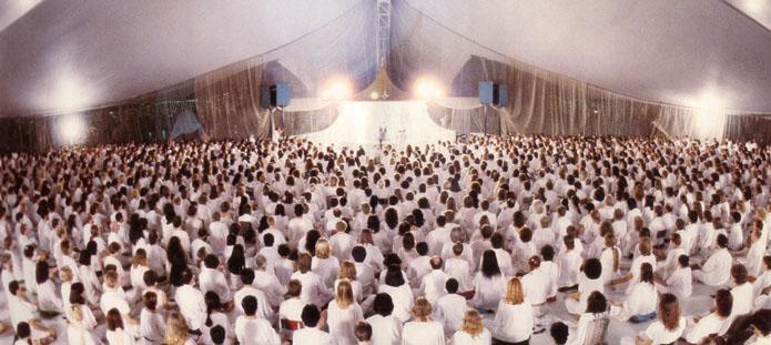 White Robe Meditation Gathering
