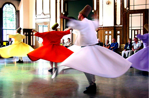 Sufi Whirling Meditation Skirts