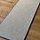 Thumbnail: Wool hallway runner w. blue trim.
