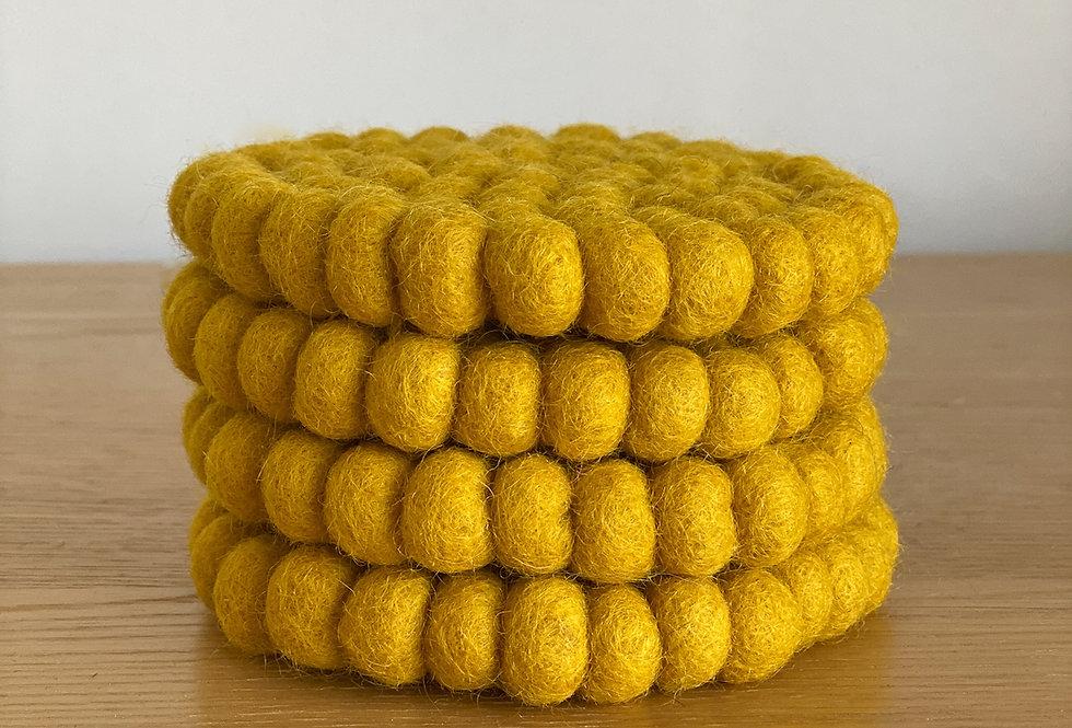 Mustard Seed Coaster