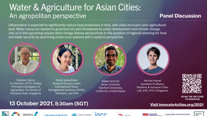 Water & Agriculture for Asian Cities: An agropolitan perspective