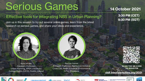 Serious Games: Effective tools for mainstreaming nature-based solutions in Urban Planning?