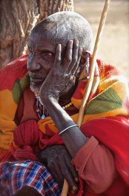 Maasai Tribe Leader / Tanzania