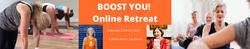 YogaWithVickiB Boost You Online Yoga & Wellness Retreat 23 October 2021