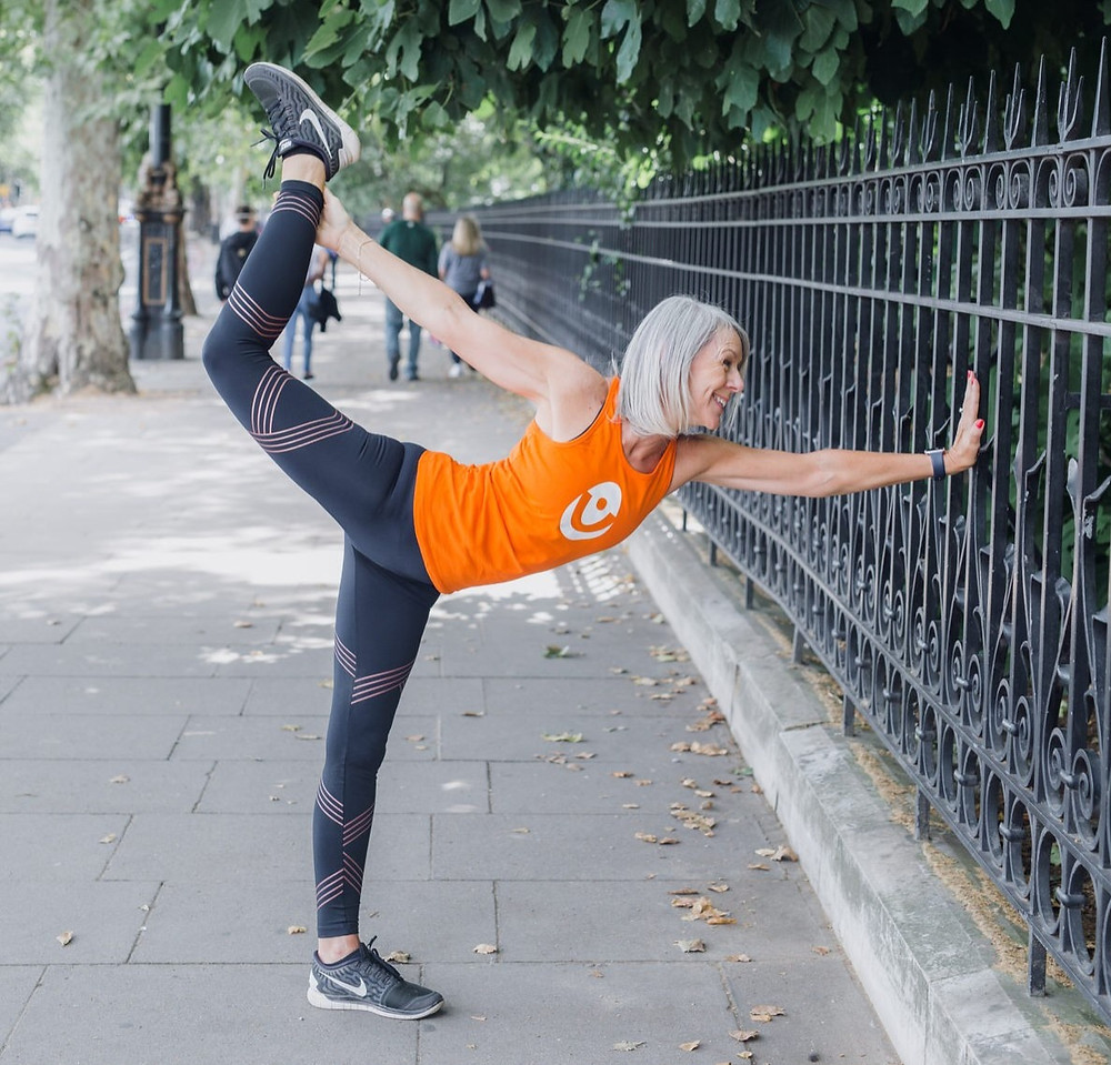 Yoga teacher Vicki Baumann of Yogawithvickib names as one of the f:Entrepreneur #ialso100 for 2020.