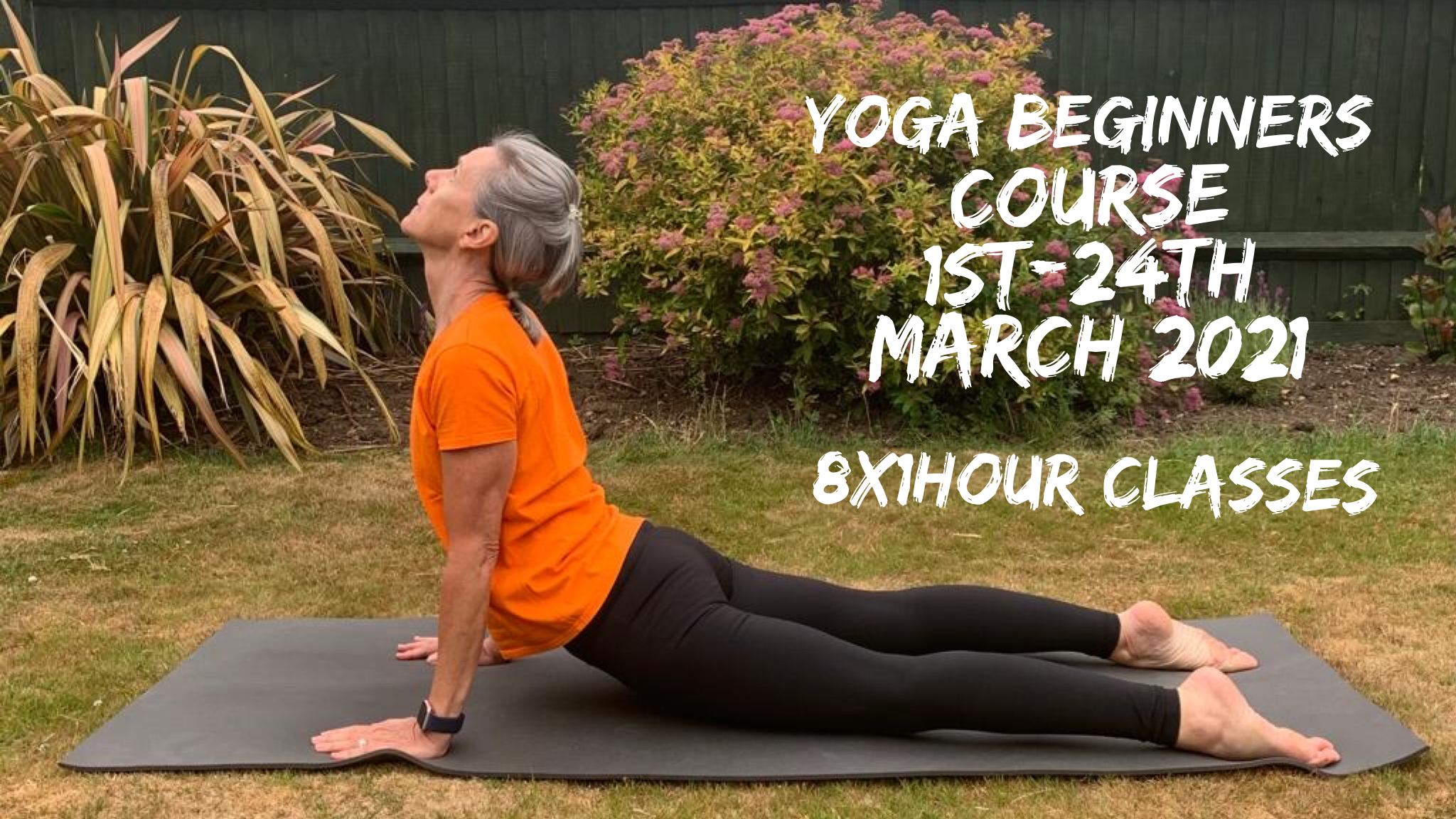 Yoga Beginners Course 1st March 2021