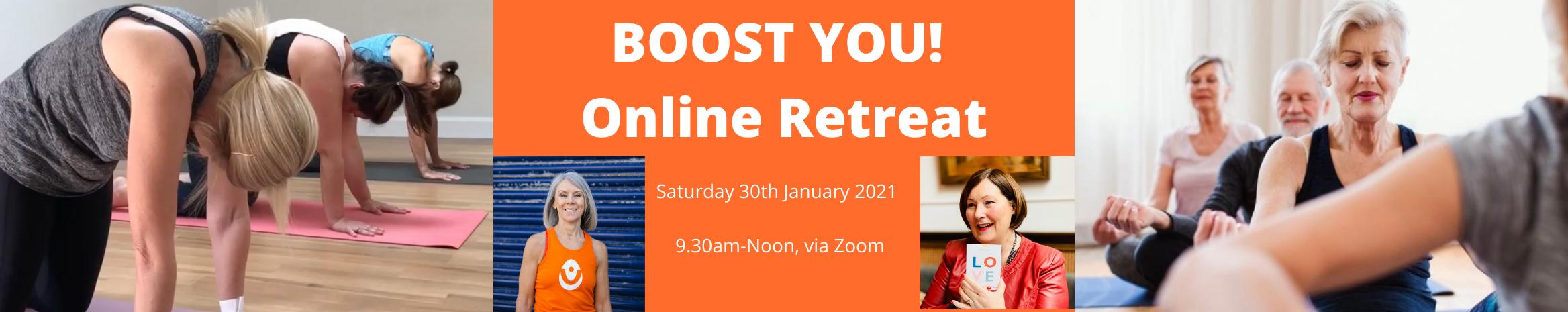 Boost You Online Yoga, Meditation, Mindf