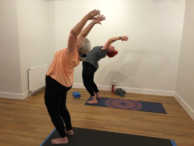 Yoga Beginners Course, Back Be