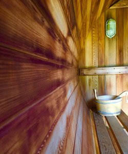 Relax in the sauna at Tilton House in the Sussex Downs, location for the YogaWithVickiB ladies-only