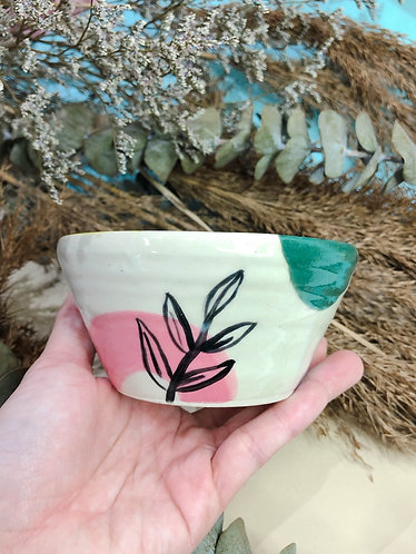 Leaves x Abstract Bowl (Design 1)