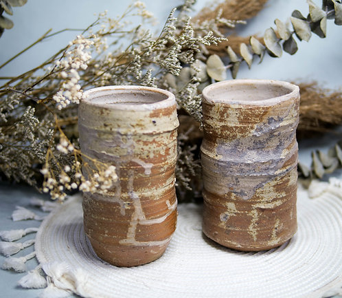 Dragon Kiln Fired Vase