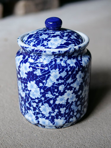 Sakura Blossoms Jar with Lid