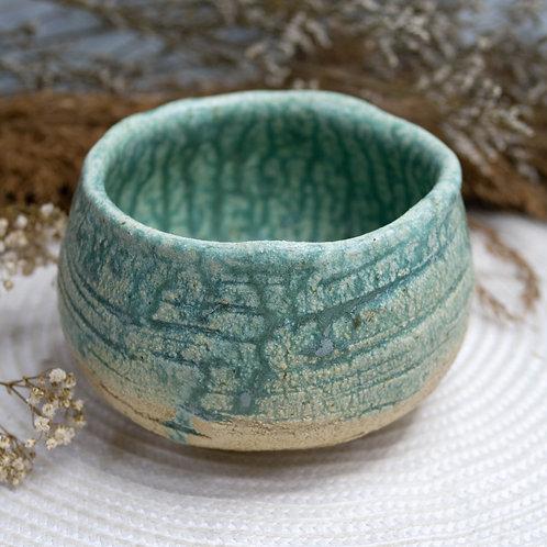 Dragon Kiln Turquoise Chawan