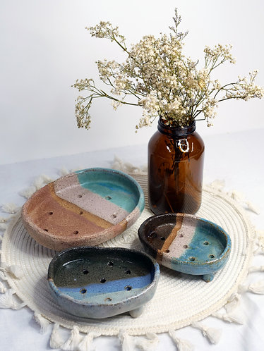 Textured Soap Dishes (3 Sizes/Designs)