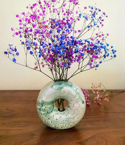 Merlion Vase