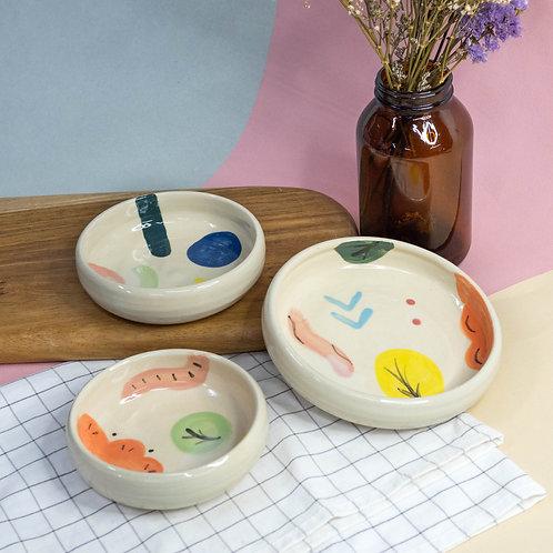 Happy Plates (3 Designs)
