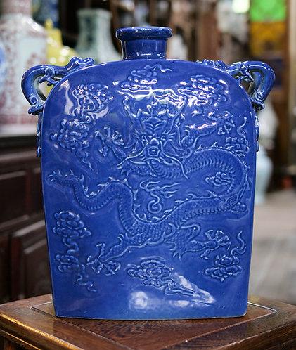 Blue Dragon Vase