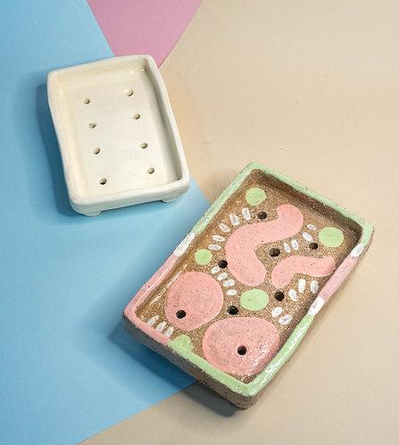 Rectangular Soap Dishes (2 Designs)