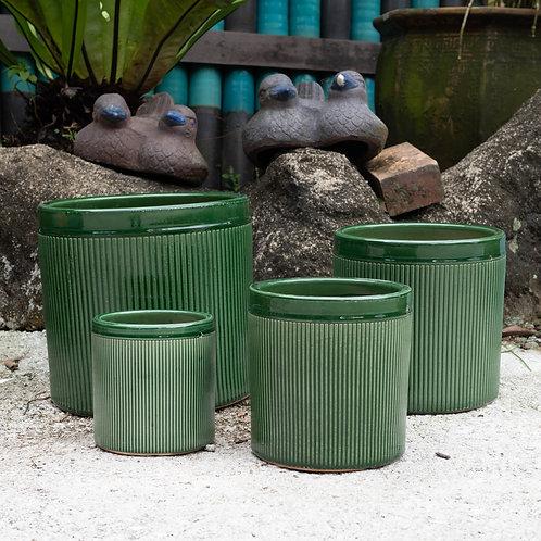 Vintage Style Pots (3 Colours, 4 Sizes)