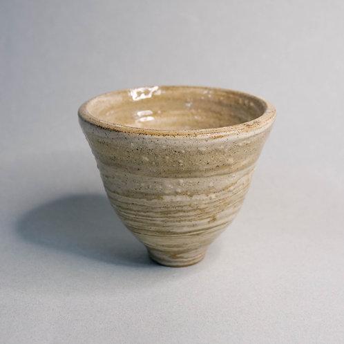 Dragon Kiln Fired Marbled V-Bowl