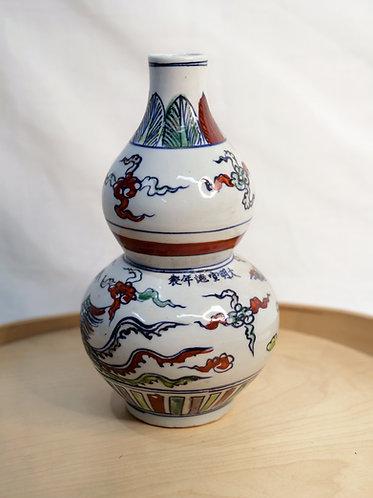 Multi-coloured Chinese Vase (Design 2)