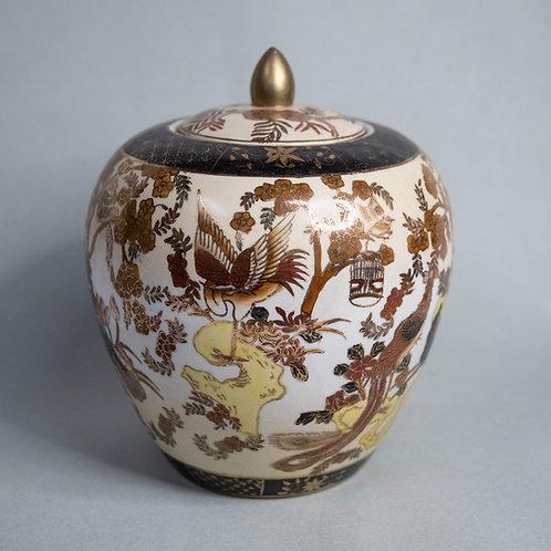 Jar with Golden Lotus Bud Lid