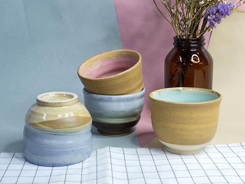 Nutmeg x Pastel Cups (4 Designs)