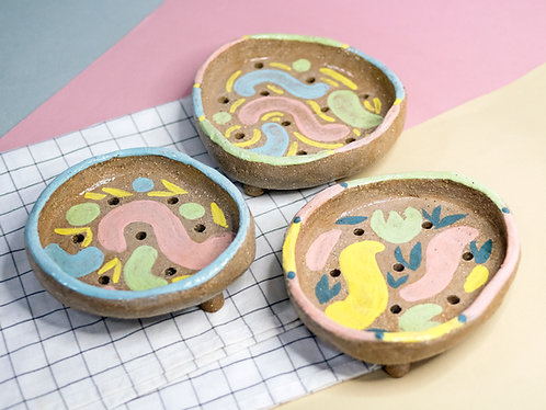 BRT Clay Soap Dishes (3 Designs)
