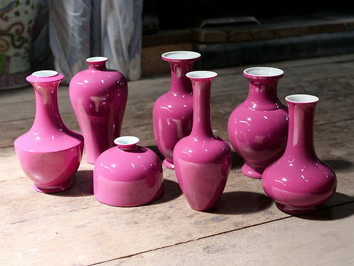 Monochrome Purple Vases (7 Designs)