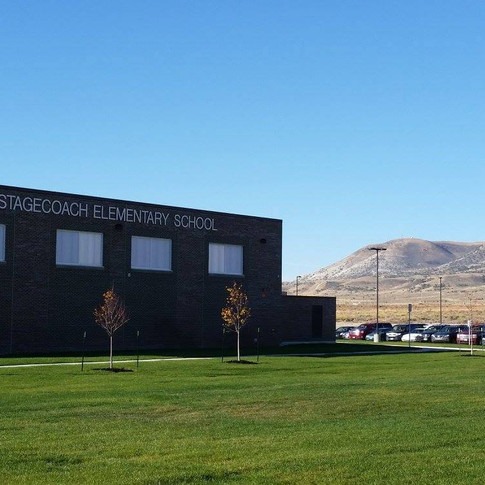 Stagecoach Elementary School in Rock Springs, Wyoming