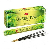 """Благовония HEM Hexa Green Tea """"Зеленый чай"""""""