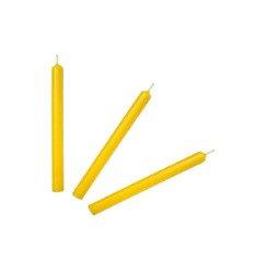 Свеча классика желтая