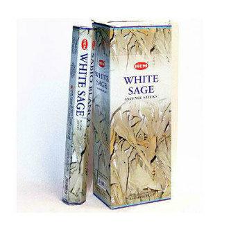 """Благовония HEM Hexa White Sage """"Белый шалфей"""""""