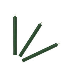 Свеча классика  зеленая
