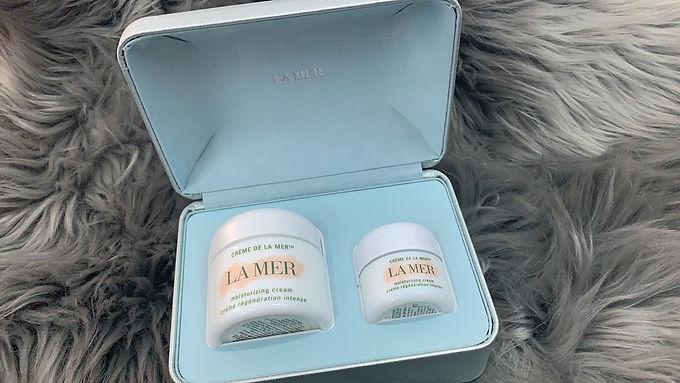 The Crème de la Mer Duet Crème de la Mer 精華面霜套裝