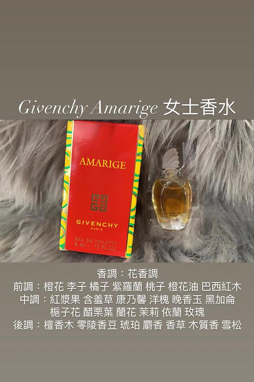 GIVENCHY AMARIGE EDT,4ml 女士香水