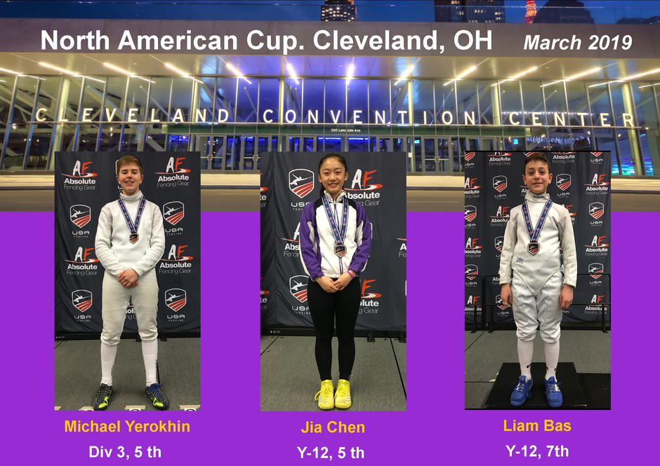 Results from NAC in Cleveland!